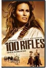 100 Rifles (1969) afişi