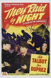 They Raid by Night (1942) afişi