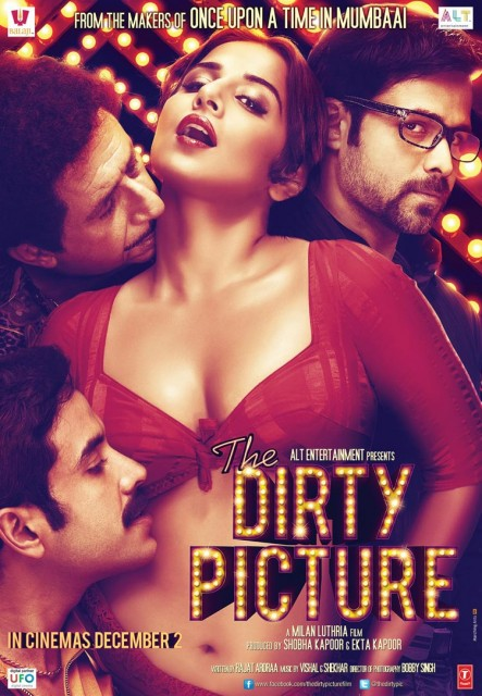 The Dirty Picture (2011) afişi