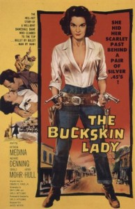 The Buckskin Lady (1957) afişi