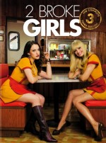 2 Broke Girls Sezon 3 (2013) afişi