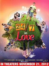 24/7 in Love (2012) afişi