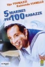 5 Marines Per 100 Ragazze (1961) afişi
