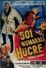 501 Numaralı Hücre (1966) afişi