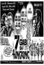 7 Gabi Sa Hong Kong (1966) afişi