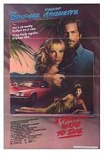 8 Million Ways To Die (1986) afişi