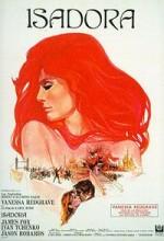 Isadora (1968) afişi