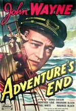 Adventure's End (1937) afişi