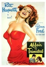 Affair in Trinidad (1952) afişi