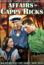 Affairs Of Cappy Ricks (1937) afişi
