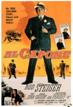 Al Capone (1959) afişi