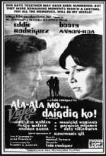 Alaala Mo, Daigdig Ko (1974) afişi