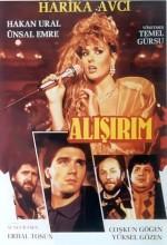 Alışırım (1987) afişi