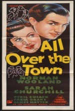 All Over The Town (1949) afişi