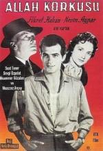 Allah Korkusu (1958) afişi