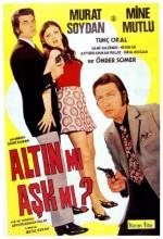 Altın Mı Aşk Mı (1971) afişi
