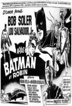 Alyas Batman At Robin (1965) afişi
