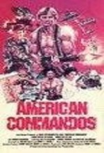 American Commandos (1985) afişi