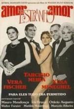 Amor Estranho Amor (1982) afişi