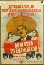 Aquí Está Tu Enamorado (1963) afişi