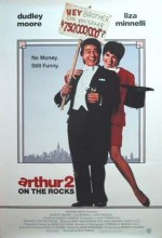 Arthur 2: On The Rocks (1988) afişi