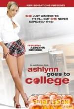 Ashlynn Goes To College (2007) afişi