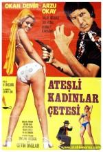 Ateşli Kadınlar çetesi (1971) afişi