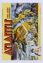 Atlantis, The Lost Continent (1961) afişi