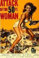 Attack Of The 50 Foot Woman (1958) afişi