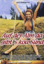 Auf Der Alm, Da Gibt's Koa Sünd' (1974) afişi