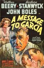 A Message to Garcia (1936) afişi