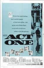 Act One (1963) afişi