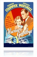 Always Goodbye (1938) afişi
