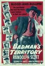 Badman's Territory (1946) afişi