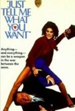 Bana Ne İstediğini Söyle (1980) afişi