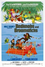 Bedknobs And Broomsticks (1971) afişi