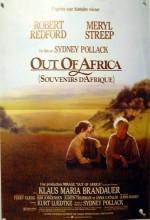 Benim Afrikam (1985) afişi