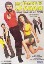 Beş İdamlık Adam (1971) afişi