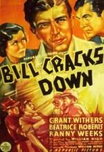 Bill Cracks Down (1937) afişi