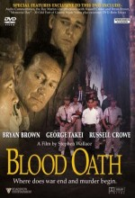 Blood Oath (1990) afişi