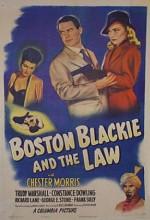 Boston Blackie And The Law (1946) afişi
