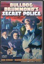 Bulldog Drummond's Secret Police (1939) afişi
