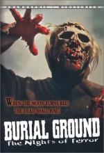 Burial Ground (1981) afişi