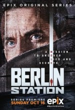 Berlin Station (2016) afişi