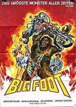 Bigfoot (1970) afişi