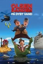 Olsen Banden på dybt vand (2013) afişi