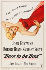 Born to Be Bad (1950) afişi