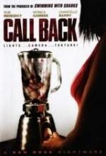 Call Back (2009) afişi