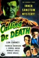 Calling Dr. Death (1943) afişi
