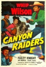 Canyon Raiders (1951) afişi